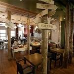 GO hotel Shnelli, ресторан