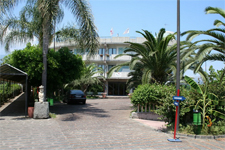 Отель Atlantis, территория