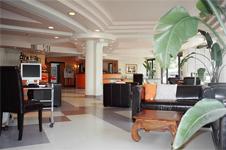 Отель Atlantis, холл и рецепция