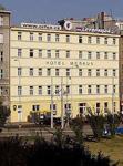 отель Merkur в центре Праги, внешний вид