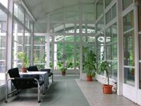 отель Slavia в Праге, холл