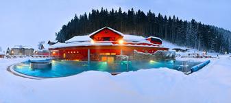 Спа центр зимой