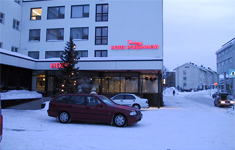 отель Rantasipi Pohjanhovi, вид с улицы