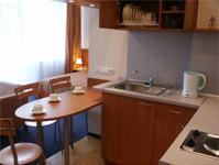 Санаторий Egle, номер с кухней