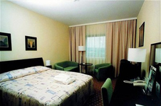 Отель Holisday inn, улучшенный номер