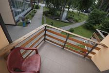 Отель Dainava, балкон в номере