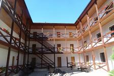 Отель Абаата, внутренний дворик
