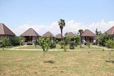 Коттеджи Бамбора, территория