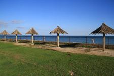 Коттеджи Бамбора, пляж