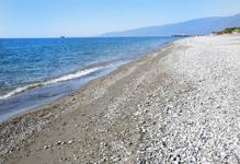Пансионат Кавказ, пляж