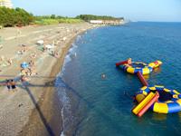 Санаторий Литфонд, пляж