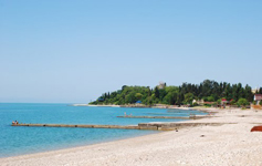 База отдыха Мия, пляж
