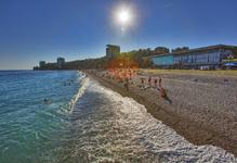 Объединение пансионатов, пляж
