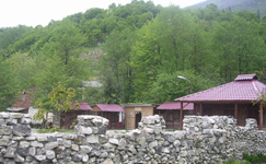 Санаторий Сана, территория