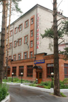 Гостиница Баринова Роща, вход