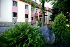 Гостиница Чайка, фасад