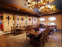Отель-замок Нессельбек, ресторан
