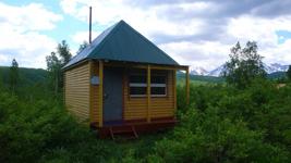 турбаза Налычево, жилой домик