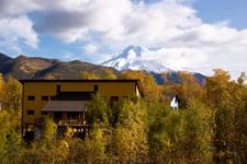 Снежная долина, панорама гор