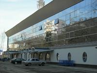 Гостиница Спорт, фасад