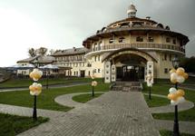 Отель Московский тракт, территория