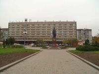 Гостиница Рижская, фасад