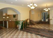 Гостиничный комплекс Ясная поляна, холл и рецепция