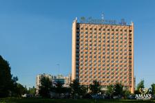 Отель Амакс, фасад