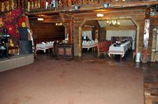 Гостиница Русская деревня, ресторан