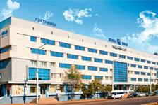 Гостиница Волга, фасад
