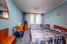 Гостиница Волга, номер на двоих