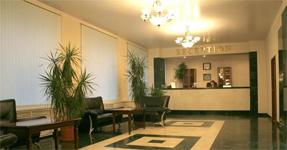 Отель Вологда, холл и ресепшен
