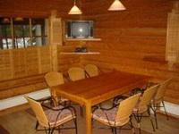 Коттедж 4+2 (35 м2), обеденный стол