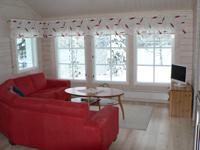 Коттедж 6+2 (50 м2), гостиная