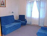 Коттедж берег, гостиная