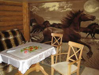 Дом пряник, столовая