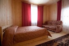 Дом на озере Сиркоярви, спальня