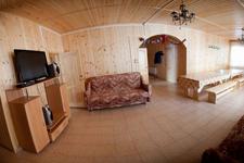 Дом на озере Сиркоярви, гостиная