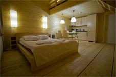 Клубный отель Трава, спальня