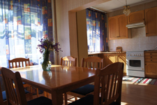 Дом в Зеленогорске, кухня-гостиная