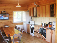 Березово, кухня в доме