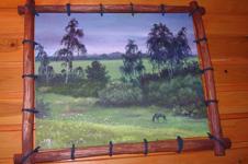 Коттедж Русский Дом, картина в холле