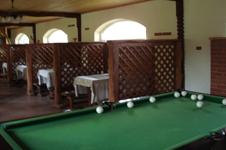 Ресторан Русское подворье, бильярдный стол