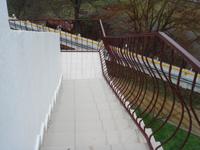 территория пансионата Фея 2, вид с балкона