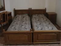 двухспальная кровать, раздельная
