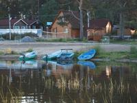 Турбаза Михайловское на озере Вуокса