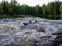 Выходные в Карелии на реке Шуя
