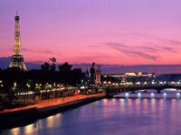 Тур по Европе в Париж