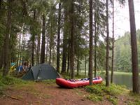 Комбинированный отдых на Ладожском озере