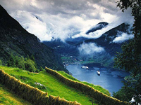 Круиз Норвежские фьорды 2014